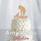 Wedding Cake Topper - Happily Ever After - AW1010W