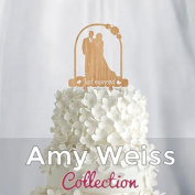 Wedding Cake Topper - Just married - AW1002W