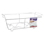 Party Dimensions 11992 Wire Chafing Sleek Rack, Chrome