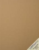 20 Brown Kraft Fibre 80# Cover Paper Sheets - 28cm X 36cm (28cm X 36cm ) Scrapbook|Picture-Frame Size - Rich Earthy Colour with Natural Fibres - 36kg/pound Cardstock - Smooth Finish