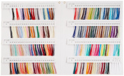 FUJIX (Fujix) Tyre silk thread swatch book
