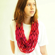 Arm Knit Cowl - Learn To Knit Kit With Video Course, For Absolute Beginners
