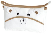 DMC Bear's head toiletry pouch_ RS1989 embroidery for items / accessories for pouch