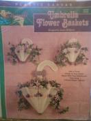 Needlecraft Shop Umbrella Flower Baskets Plastic Canvas Kit