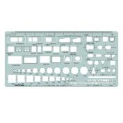 Dorapasu template E506 interior layout ruler 1