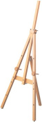 Wooden easel M size natural wood grain