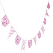 Pink 1st Birthday Garland