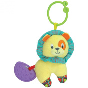 Caesar the Lion Teether Rattle