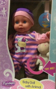 GiGo Toys Fantasy Collection Baby Doll With Animal