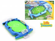 Bumper Soccer Championship Game Set From Little Treasures with Two Goals, One Soccer Ball, and Four Bumper Panels