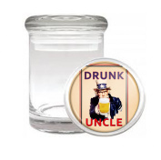 Drunk Uncle Medical Odourless Glass Jar