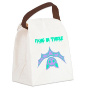 CafePress Canvas Lunch Bag - Fang in there Canvas Lunch Bag - Khaki