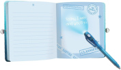 Peaceable Kingdom Top Secret Lock and Key Diary with Invisible Ink Pen
