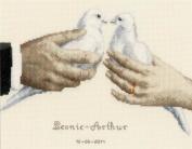 Vervaco Wedding Doves Cross Stitch Kit
