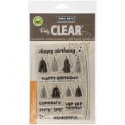 Hero Arts Tassels Clear Stamp Set