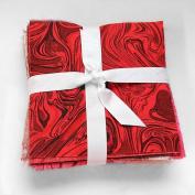 102 rainbow Swirl pre cut charm pack 13cm squares 100% cotton fabric quilt