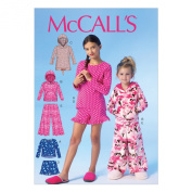 McCall Pattern Company M7041 Children's/Girl's Tops, Dress, Shorts and Pants Sewing Template, CCE