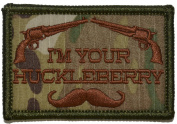 """""""I'm Your Huckleberry"""" - 2x3 Hat Patch"""