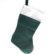 Green Felt Christmas Stocking
