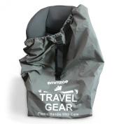 Emmzoe Premium Car Seat Airport Gate Cheque Travel Storage Bag Features Durable Nylon, Foldable Pouch, Hand / Shoulder Strap