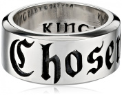 King Baby Chosen Sterling Silver Ring, Size 7