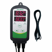 Inkbird 110V 1100W Brewing Temperature Controller, Heat Mat Thermostat, 2m Male to Female Adapter Thermocouple