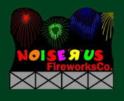 9781 Lg Model Noise R Us Fireworks Animated & Lighted Billboard by Miller Signs