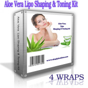 4 free defining gels 4 free anti-cellulite creams 4 aloe vera body wraps inch loss spa large cling film
