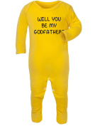 Will you be my Godfather. Baby Rompersuit