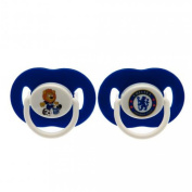 Baby Dummies - Official Chelsea FC Baby Soothers - Novelty Baby Football Gift Ideas