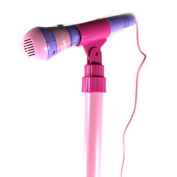 Super Star Princess Children's Toy Stand Up Microphone Play Set with Built In MP3 Player, Speaker, Adjustable Height