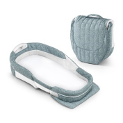Baby Delight Snuggle Nest Surround XL Sea Green Rings