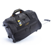 A.Saks Lightweight Expandable 50cm Carry-On Rolling Upright Duffel Bag