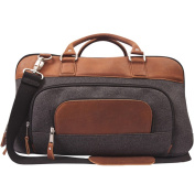 Canyon Outback Brody 46cm wide Wool and Leather Duffel Bag