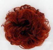 Scrunchie Hairpiece ponytail copper intense ref 17/350 peruk