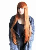 Prettyland C360 - Glamourlook Long Smooth & Elegantly Styled Wig 85 cm Orange