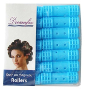 Dream Fix DF Magnetic Snap On Rollers A Small Blue