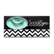 SocialEyes Ravishing Lashes Thick Natural False Eyelashes Eye Lashes