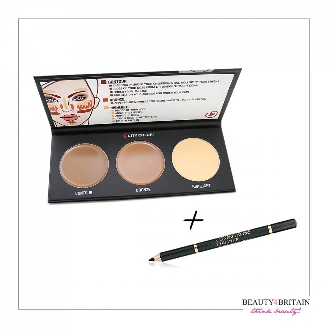 City Color Concealer Beauty Buy Online From Brow Quad Medium