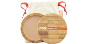 ZAO 303 Compact Powder Brown/Beige/Neutral in a Refillable Bamboo Container Certified Bio / Ecocert / Cosmebio / Natural Cosmetics