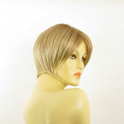 Wig Women Short Smooth in Light Copper Blond with Light Blond Ref
