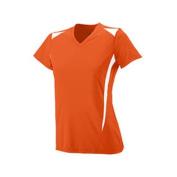 Girls Premier Crew - 1056 - Orange/White - L