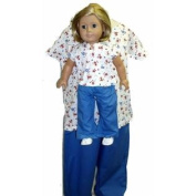 Matching Girl and Doll Pants and T size 12
