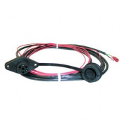 Warn 1.8m Remote Wiring Harnet & Socket Spade Terminal