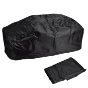420D Waterproof Soft Winch Dust Cover Fits Driver Recovery 6800LB-7940kg Black