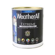 true value mfg company waes8.5l WAES9, True Value, Premium Weatherall Extreme, Paint/Primer In One, QT, White, Exterior