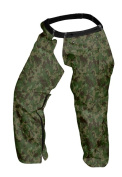 Forester Chainsaw Chaps Zipper Style Camo Short