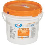Lonza Microbial 41235 Super Chlorine Tablets 7.1kg 7.6cm tabs ea