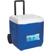 Coleman 3000002455 Blue Wheeled Cooler 42.6l blu/wht whld ea