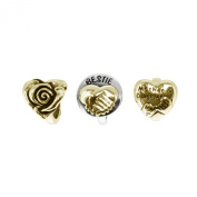 Link Up Gold Plated Silver Mother Daughter Charm Set of 3